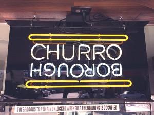 Hanhgry.com | Churro Borough store sign, Los Angeles