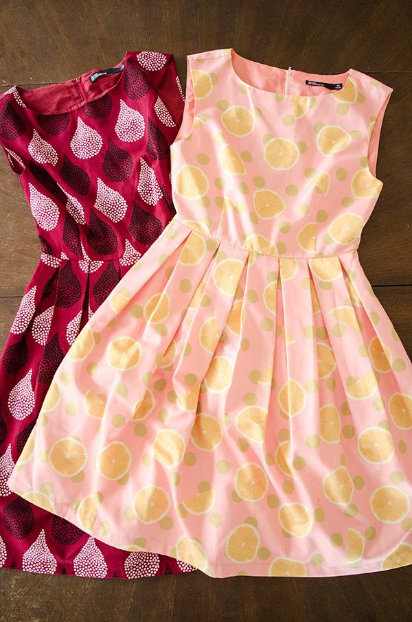 hanhgry.com | Dear Creatures sample sale haul - dresses