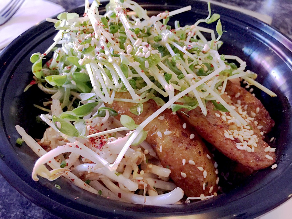 hanhgry.com | Ramen Champ: anori rice bowl with miso glazed potatoes