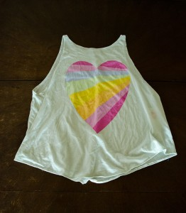 hanhgry.com   Wildfox Couture Cassidy tank in Rainbow