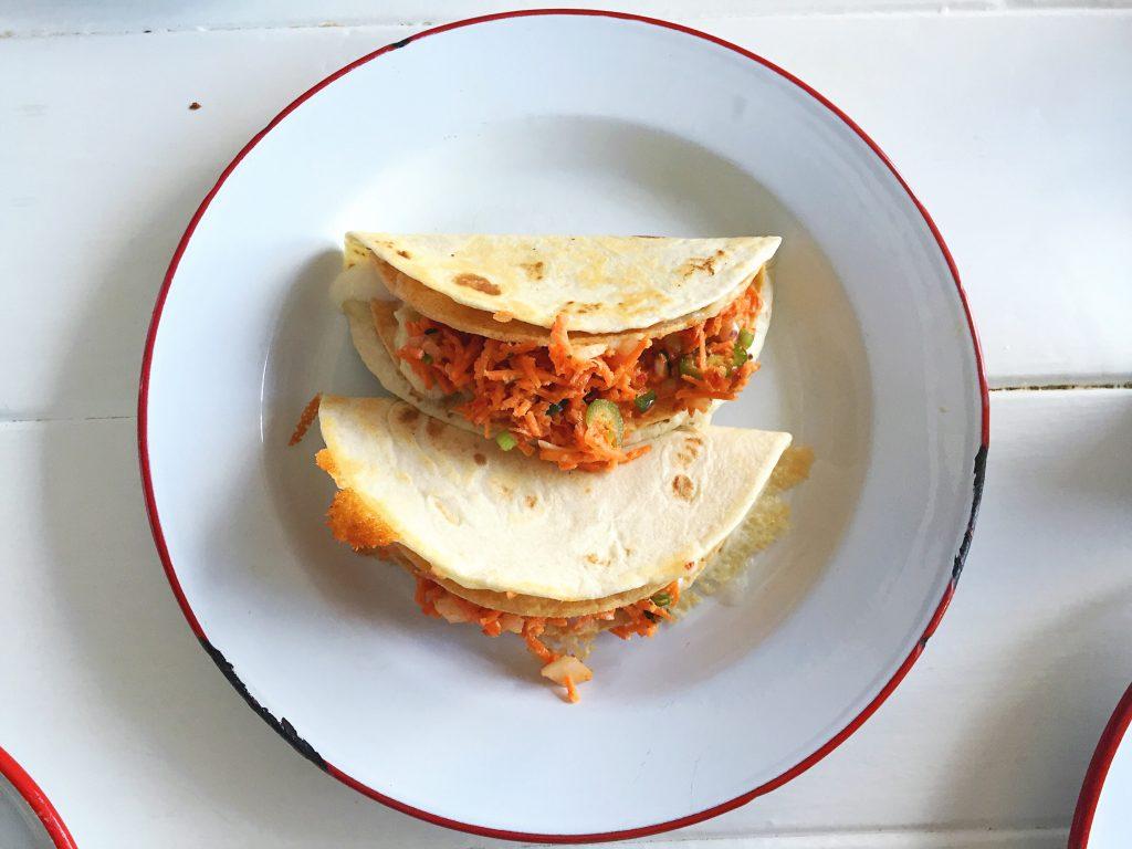 hanhgry.com | trois familia: double decker potato tacos