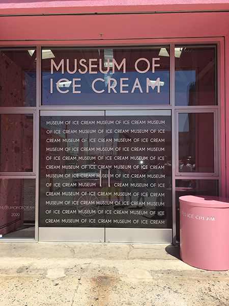 hanhgry.com: museum of ice cream entrance