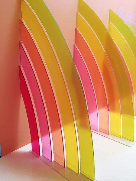 hanhgry.com | museum of ice cream rainbow sherbet room