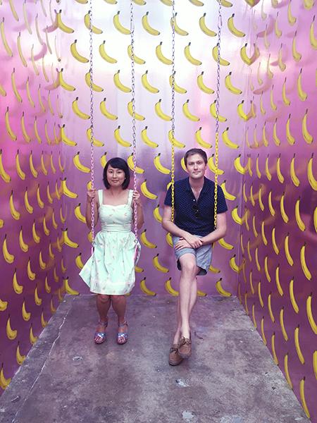 hanhgry.com | museum of ice cream banana room