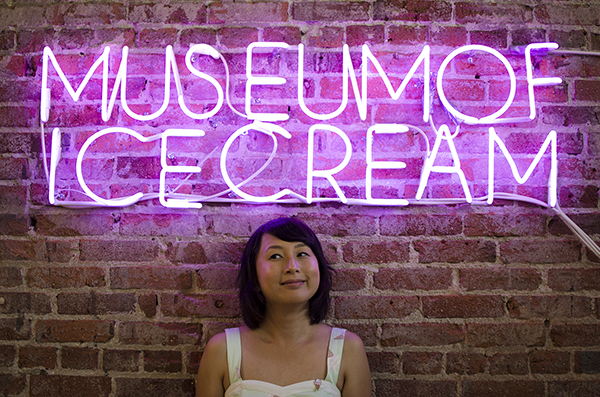 hanhgry.com | museum of ice cream neon sign