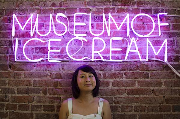 hanhgry.com | museum of ice cream neon sign