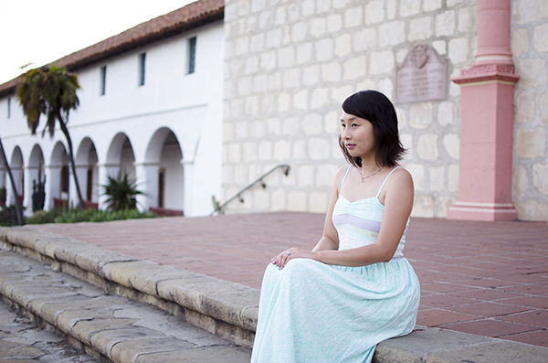 hanhgry.com | modcloth dress at Old Mission Santa Barbara