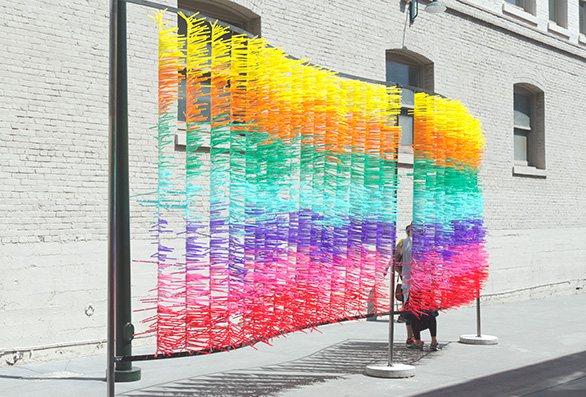 hanhgry.com | bold pas outdoor art outfit behind Better as a Color by Asli Tusavul