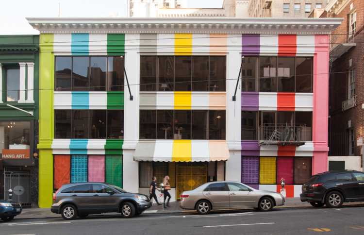 color factory exterior